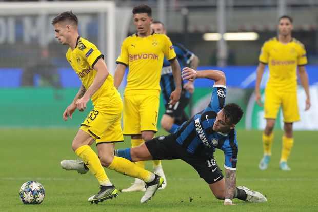 Dortmund v Inter live stream and TV channel