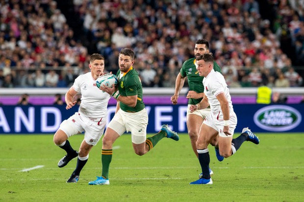 England v South Africa in the 2019 Rugby World Cup