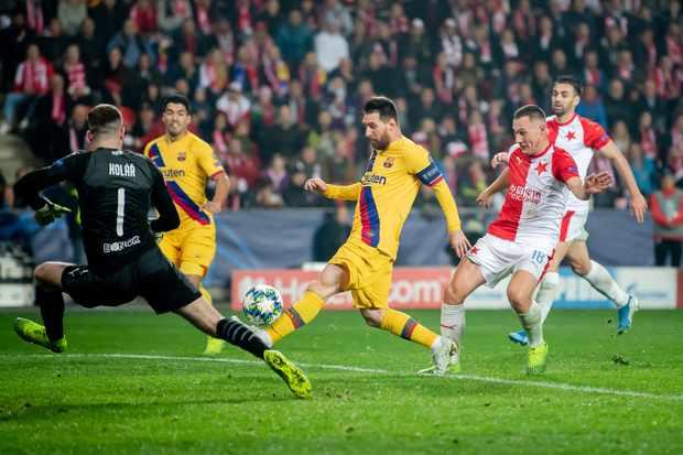 Barcelona v Slavia Prague live stream and TV guide