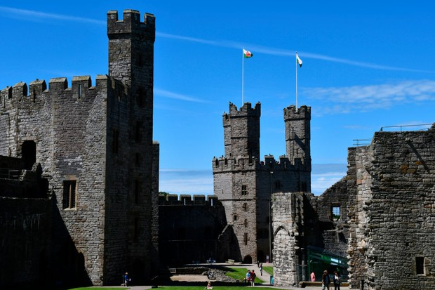 Caernarfon Castle, Wales, United Kingdom