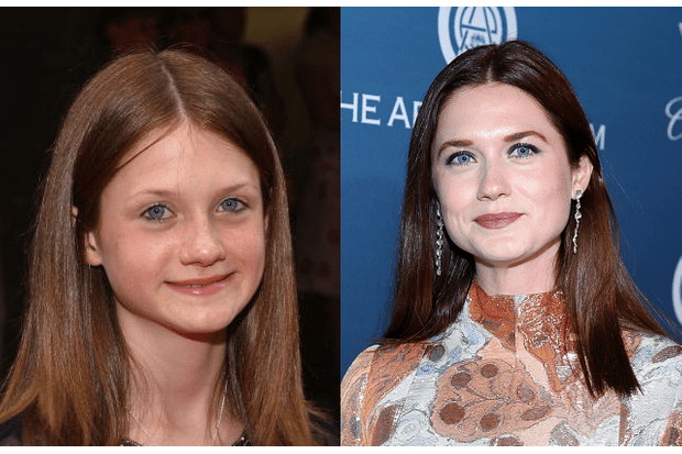 Ginny Weasley Before and After