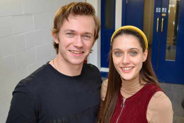 Greg Austin (Charlie Smith) and Sophie Hopkins (April Maclean) 3