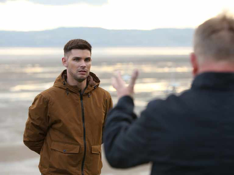"""Kieron Richardson acknowledges Hollyoaks far right story has been """"an uncomfortable watch"""""""