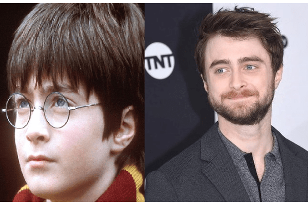Harry Potter before and after