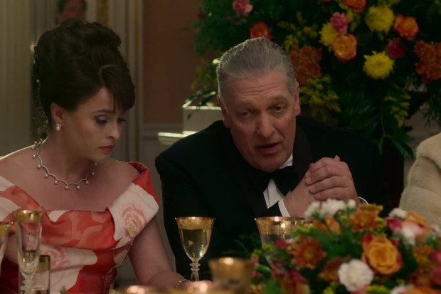 Clancy Brown plays Lyndon B Johnson in The Crown season 3