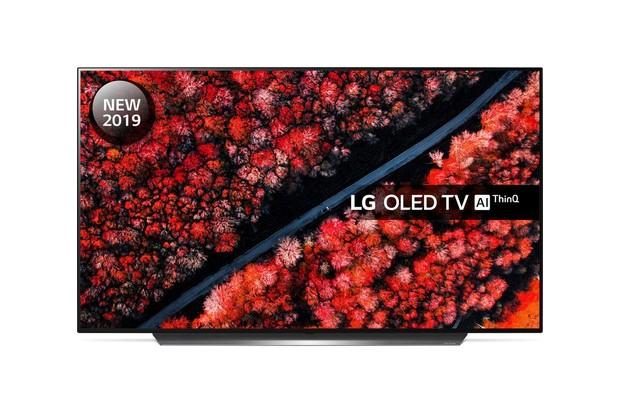 LG OLED55C9MLB 55 Smart 4K Ultra HD HDR OLED TV with Google Assistant