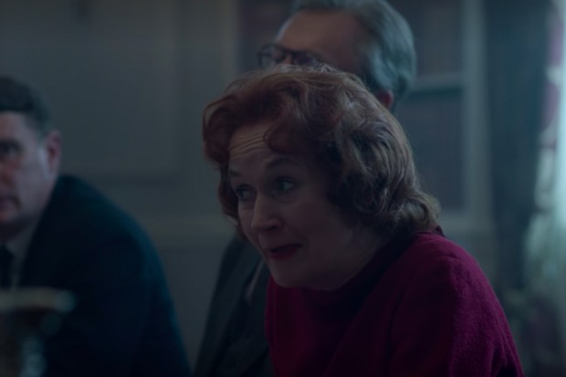 Lorraine Ashbourne plays Barbara Castle in The Crown