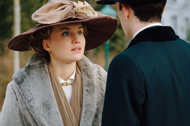 Luise von Finckh plays Clara Weiss in Vienna Blood