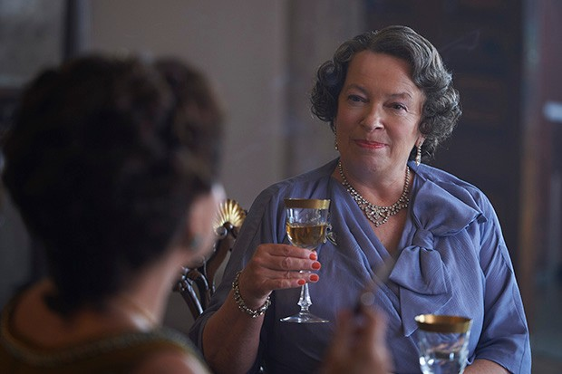 Marion Bailey plays the Queen Mother in The Crown S3