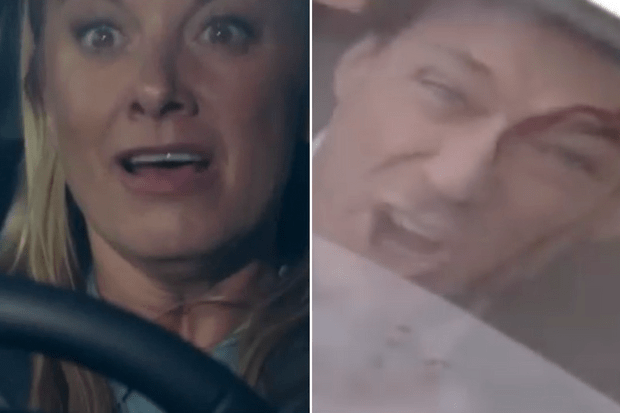 eastenders mel owen crash