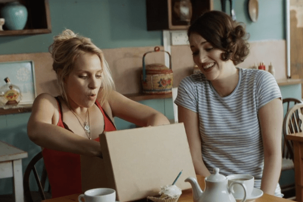 Fleabag Cafe (BBC screenshot)