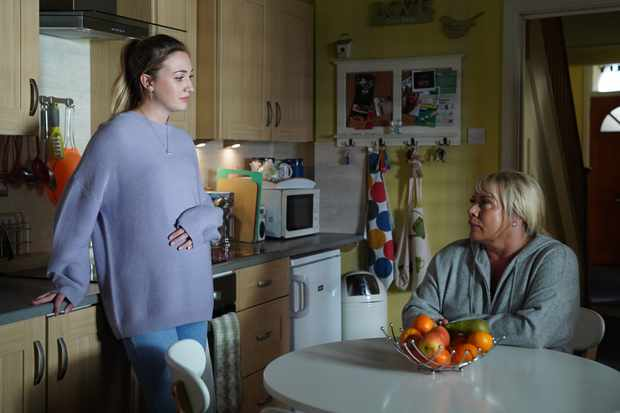 eastenders sharon mitchell louise mitchell