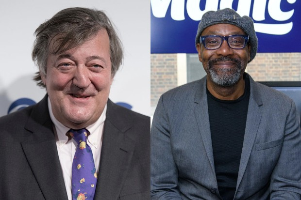 Stephen Fry and Lenny Henry (Getty)