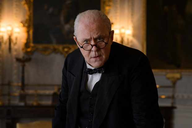 John Lithgow as Churchill in The Crown