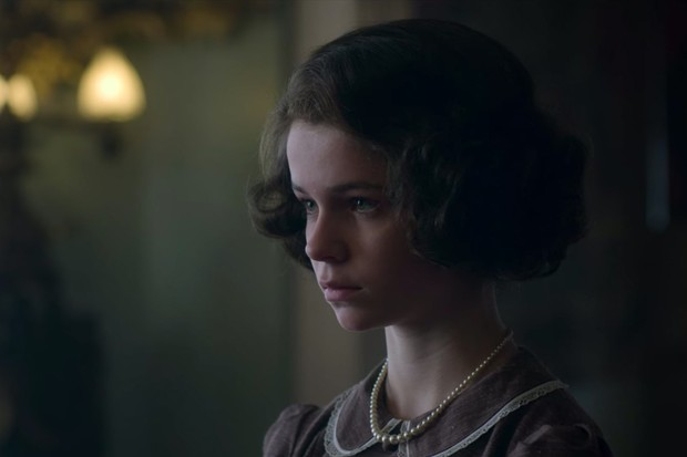 Verity Russell plays Young Princess Elizabeth in The Crown