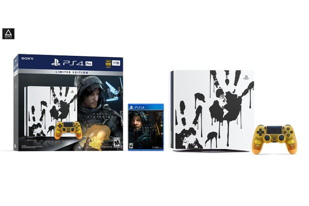 Limited Edition Death Stranding PS4 Pro Bundle
