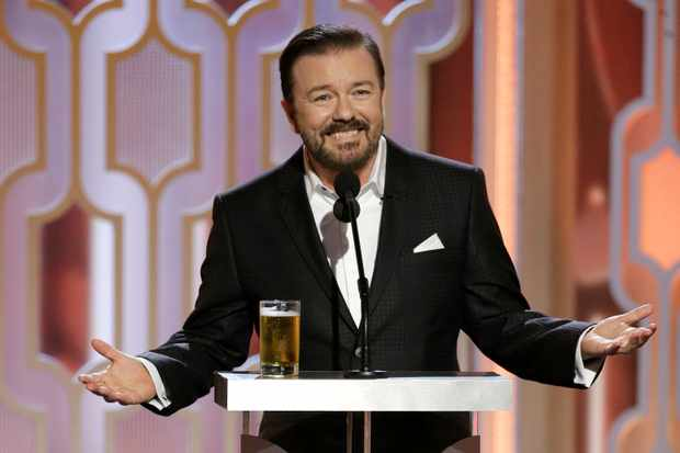ricky gervais golden globe awards