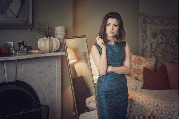 Programme Name: The Trial of Christine Keeler - TX: n/a - Episode: n/a (No. n/a) - Picture Shows: Christine Keeler (SOPHIE COOKSON) - (C) Ecosse Films - Photographer: Ben Blackall