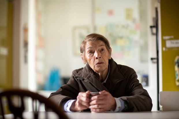 WARNING: Embargoed for publication until 00:00:01 on 30/11/2019 - Programme Name: Elizabeth Is Missing - TX: n/a - Episode: n/a (No. n/a) - Picture Shows:  Maud (GLENDA JACKSON) - (C) STV Productions - Photographer: Mark Mainz