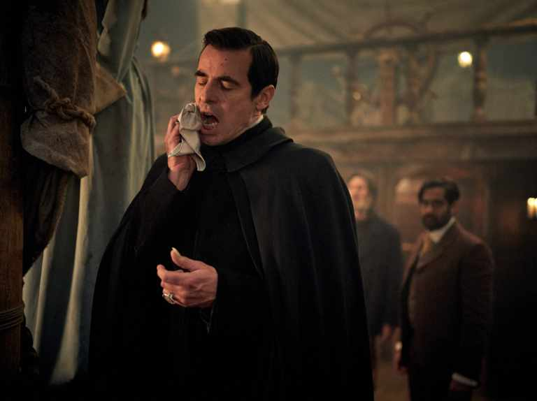 New BBC1 Dracula images reveal blood curdling showdown with nuns