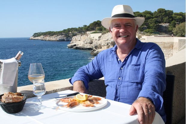 Programme Name: Rick Stein's Secret France - TX: n/a - Episode: n/a (No. 6) - Picture Shows: reflects on his travels through France as he reaches the shores of the Mediterranean in sunny Provence. Rick Stein - (C) Denham Productions - Photographer: Arezoo Farahzad