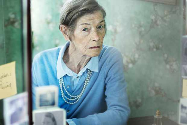 WARNING: Embargoed for publication until 00:00:01 on 26/11/2019 - Programme Name: Elizabeth Is Missing - TX: n/a - Episode: n/a (No. n/a) - Picture Shows:  Maud (GLENDA JACKSON) - (C) STV Productions - Photographer: Mark Mainz