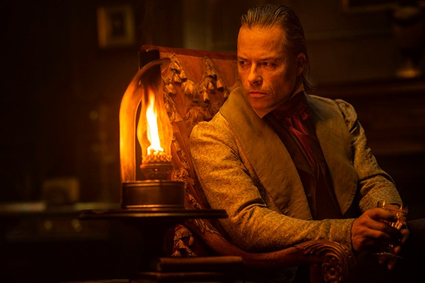 Guy Pearce as Scrooge in A Christmas Carol