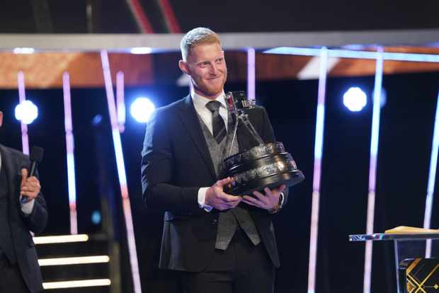 Ben Stokes at the BBC Sports Personality of the Year Awards 2019