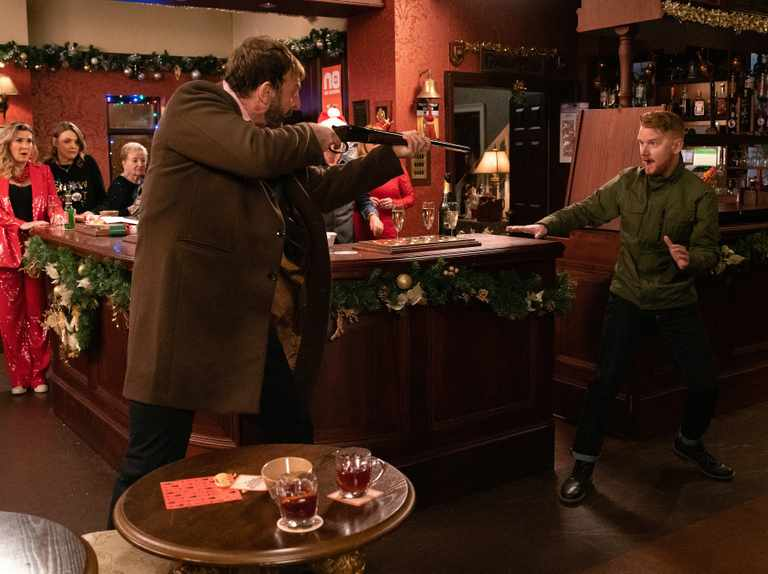 Coronation Street reveals first look at Christmas Day siege horror
