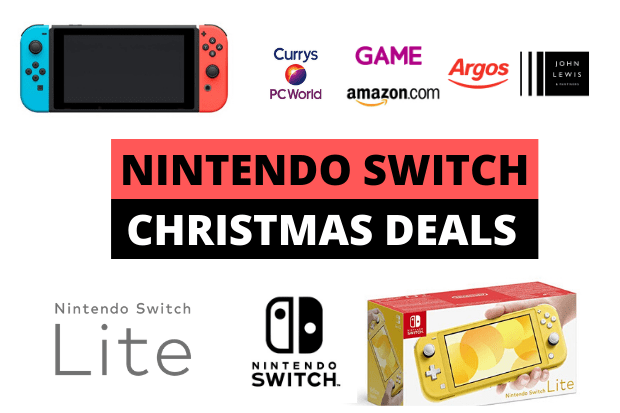 Best Nintendo Switch And Nintendo Switch Lite Uk Deals For