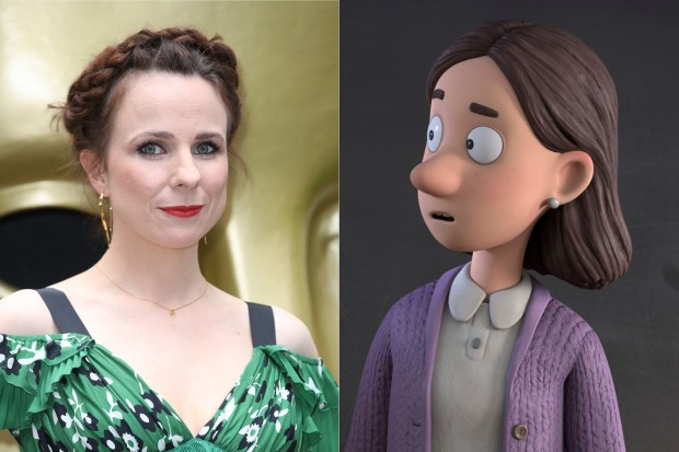 Cariad Lloyd plays the Teacher in The Snail and the Whale