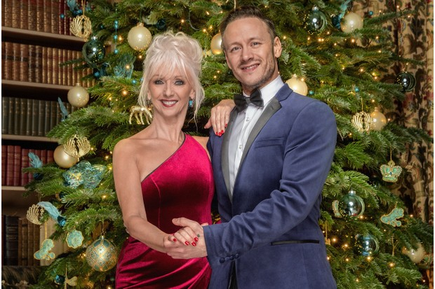 Debbie McGee Kevin Strictly Christmas special (BBC)