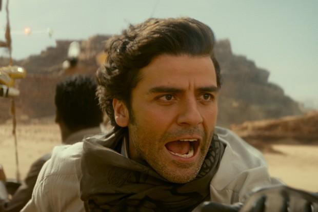 Oscar Isaac is Poe Dameron in STAR WARS:  THE RISE OF SKYWALKER