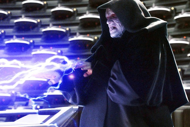 Star Wars Episode III - Revenge Of The Sith starring Ian McDiarmid as Supreme Chancellor Palpatine