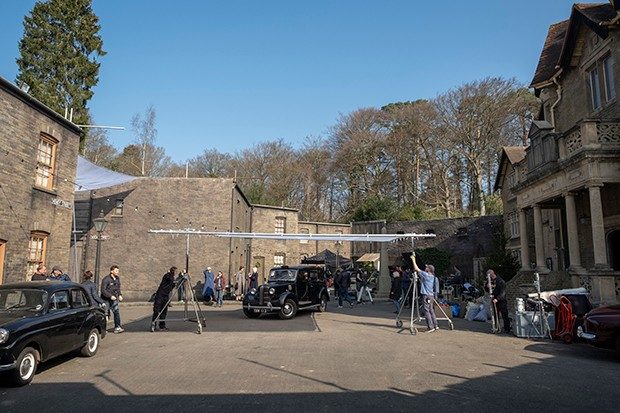 Filming call the midwife