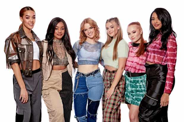 X factor Girl Band (ITV)