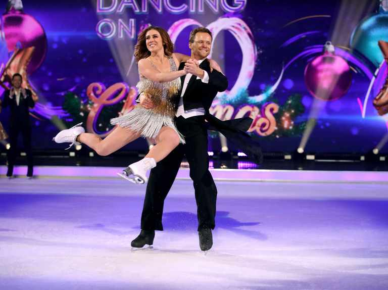 How does Dancing on Ice contestant Libby Clegg train?