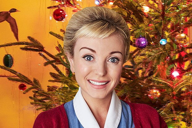 Helen George plays Nurse Trixie Anderson in Call the Midwife