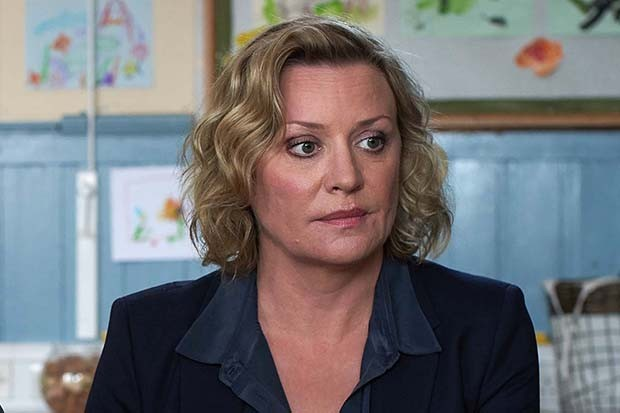 DC Gemma Darlinton (Laurie Brett), DCI Spencer Collins (Gordon Brown),