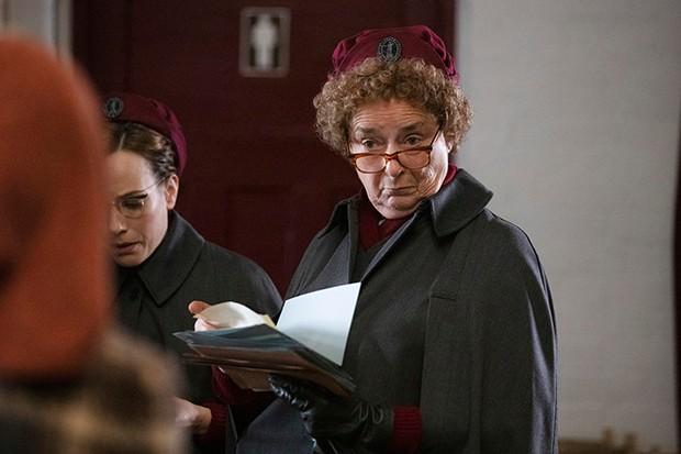 Linda Bassett plays Nurse Crane in Call the Midwife