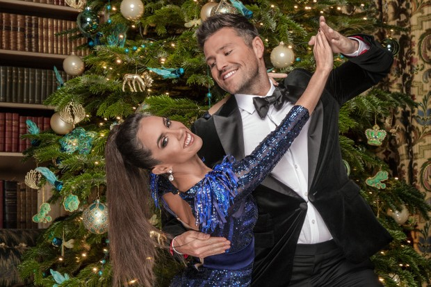 Mark Wright and Janette Christmas Strictly (BBC)