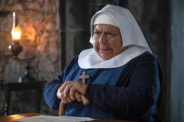 Miriam Margolyes plays Mother Mildred in Call the Midwife