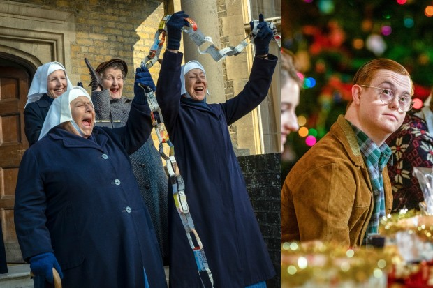 Paperchains in call the Midwife