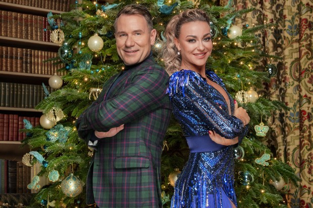 Richard and Lubna Strictly Christmas (BBC)