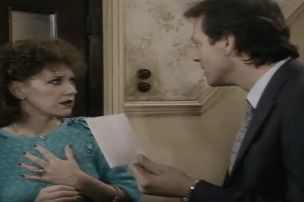 eastenders angie and den 1986
