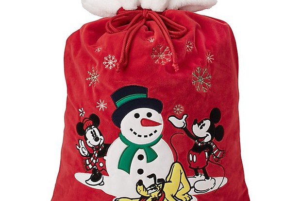Christmas sack with a snowman