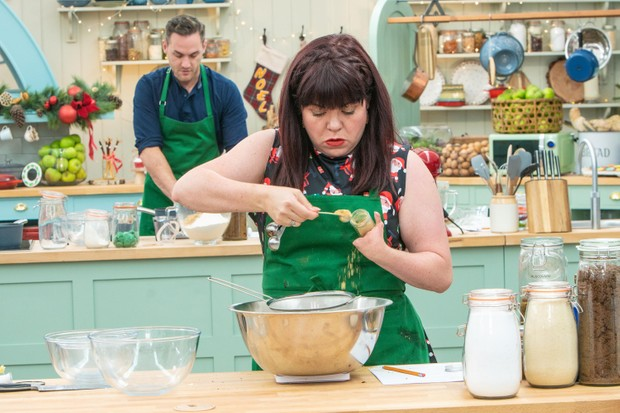 Briony Williams on The Great Christmas Bake Off