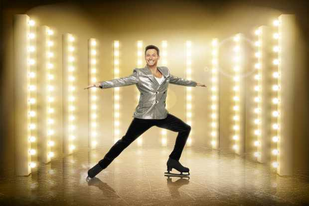 This image is strictly embargoed until 00.01 Friday 27th December 2019  From ITV Studios  Dancing On Ice: SR12 on ITV  Pictured: Joe Swash.  This photograph is (C) ITV Plc and can only be reproduced for editorial purposes directly in connection with the programme or event mentioned above, or ITV plc. Once made available by ITV plc Picture Desk, this photograph can be reproduced once only up until the transmission [TX] date and no reproduction fee will be charged. Any subsequent usage may incur a fee. This photograph must not be manipulated [excluding basic cropping] in a manner which alters the visual appearance of the person photographed deemed detrimental or inappropriate by ITV plc Picture Desk.  This photograph must not be syndicated to any other company, publication or website, or permanently archived, without the express written permission of ITV Picture Desk. Full Terms and conditions are available on the website www.itv.com/presscentre/itvpictures/terms  For further information please contact: james.hilder@itv.com / 0207 157 3052