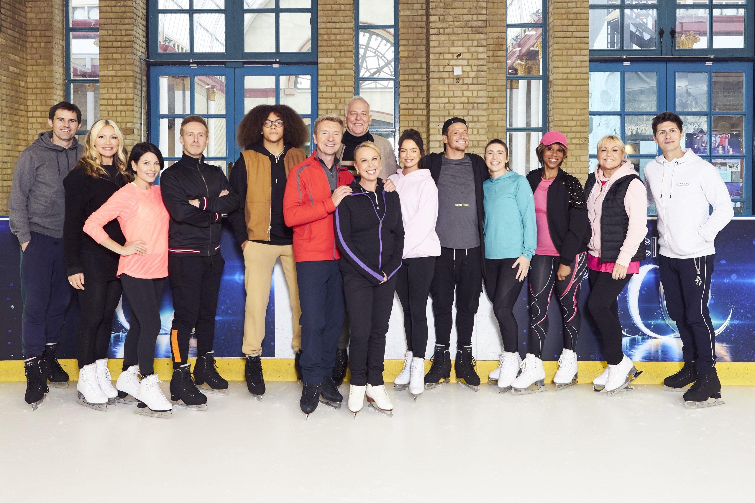 Dancing on Ice contestants (ITV)