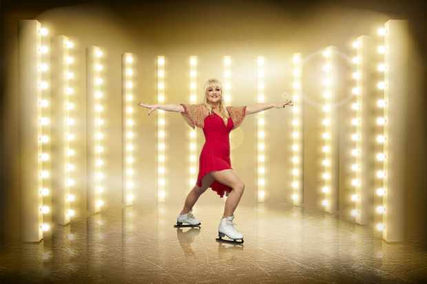 This image is strictly embargoed until 00.01 Friday 27th December 2019  From ITV Studios  Dancing On Ice: SR12 on ITV  Pictured: Lisa George.  This photograph is (C) ITV Plc and can only be reproduced for editorial purposes directly in connection with the programme or event mentioned above, or ITV plc. Once made available by ITV plc Picture Desk, this photograph can be reproduced once only up until the transmission [TX] date and no reproduction fee will be charged. Any subsequent usage may incur a fee. This photograph must not be manipulated [excluding basic cropping] in a manner which alters the visual appearance of the person photographed deemed detrimental or inappropriate by ITV plc Picture Desk.  This photograph must not be syndicated to any other company, publication or website, or permanently archived, without the express written permission of ITV Picture Desk. Full Terms and conditions are available on the website www.itv.com/presscentre/itvpictures/terms  For further information please contact: james.hilder@itv.com / 0207 157 3052